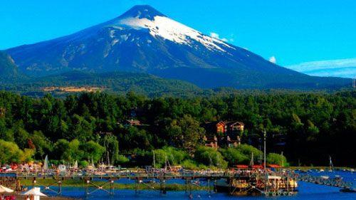 Проснулся вулкан Вильяррика