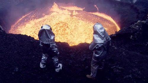 Взгляд в жерло вулкана